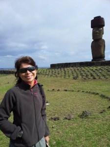 Eu e o Moai, Ilha de Páscoa