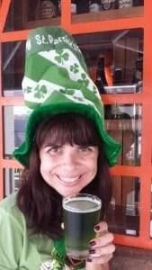St. Patrick's Day no bar Santuário, em Brasília