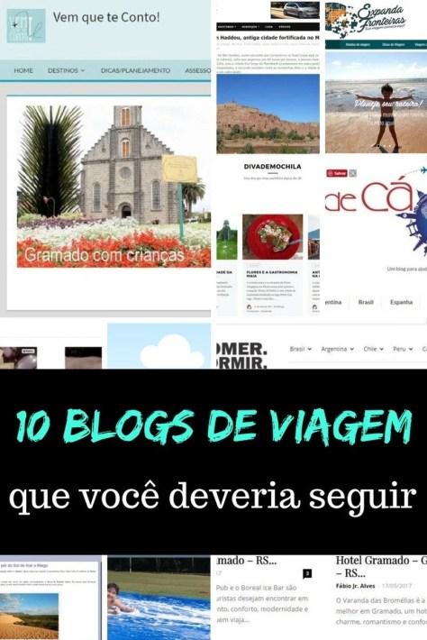 10 blogs de viagem que você deveria seguir