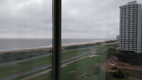 Vista do quarto do The Grand Hotel, Punta del Este