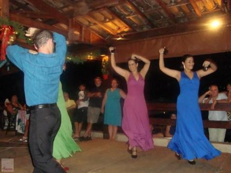 Show de dança flamenca na Pousada dos Pirineus