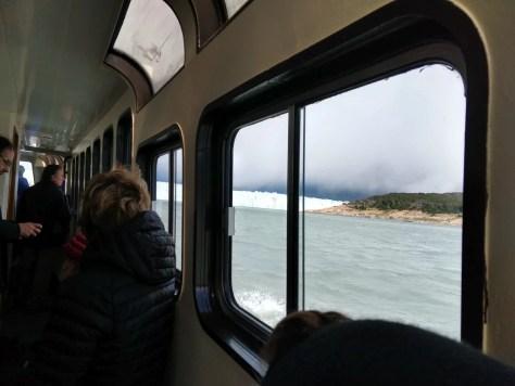 barco ao Glaciar Perito Moreno, El Calafate