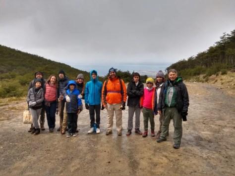 Trilha para o Glaciar Martial, em Ushuaia