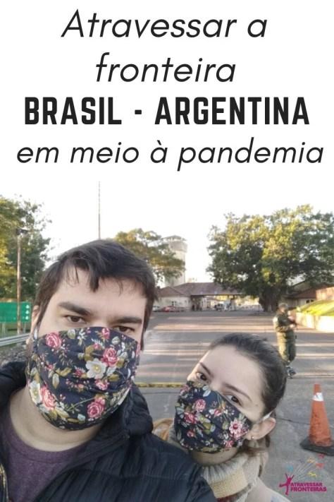 Fronteira Brasil-Argentina na pandemia de coronavírus
