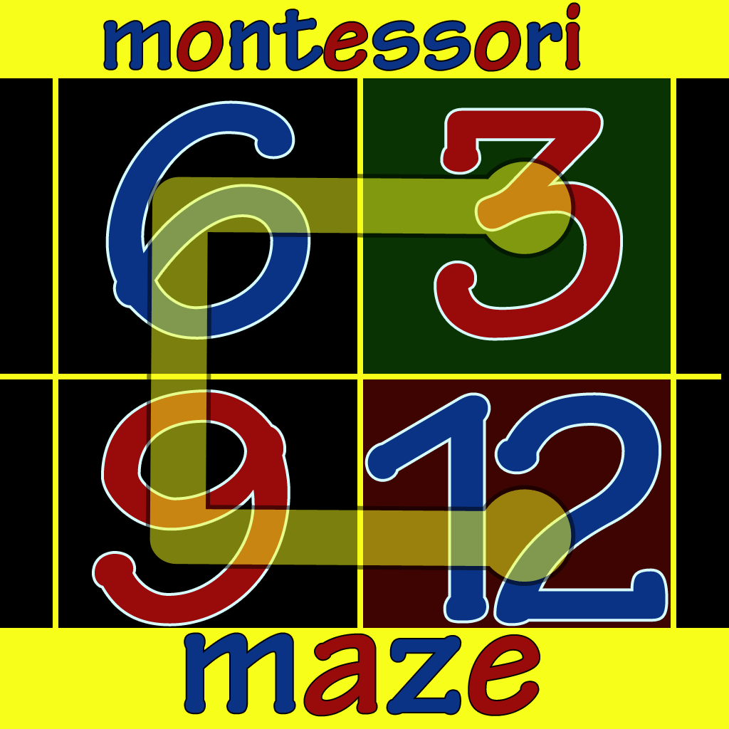 Montessori Numbers Maze Reks Educational Ios Applications