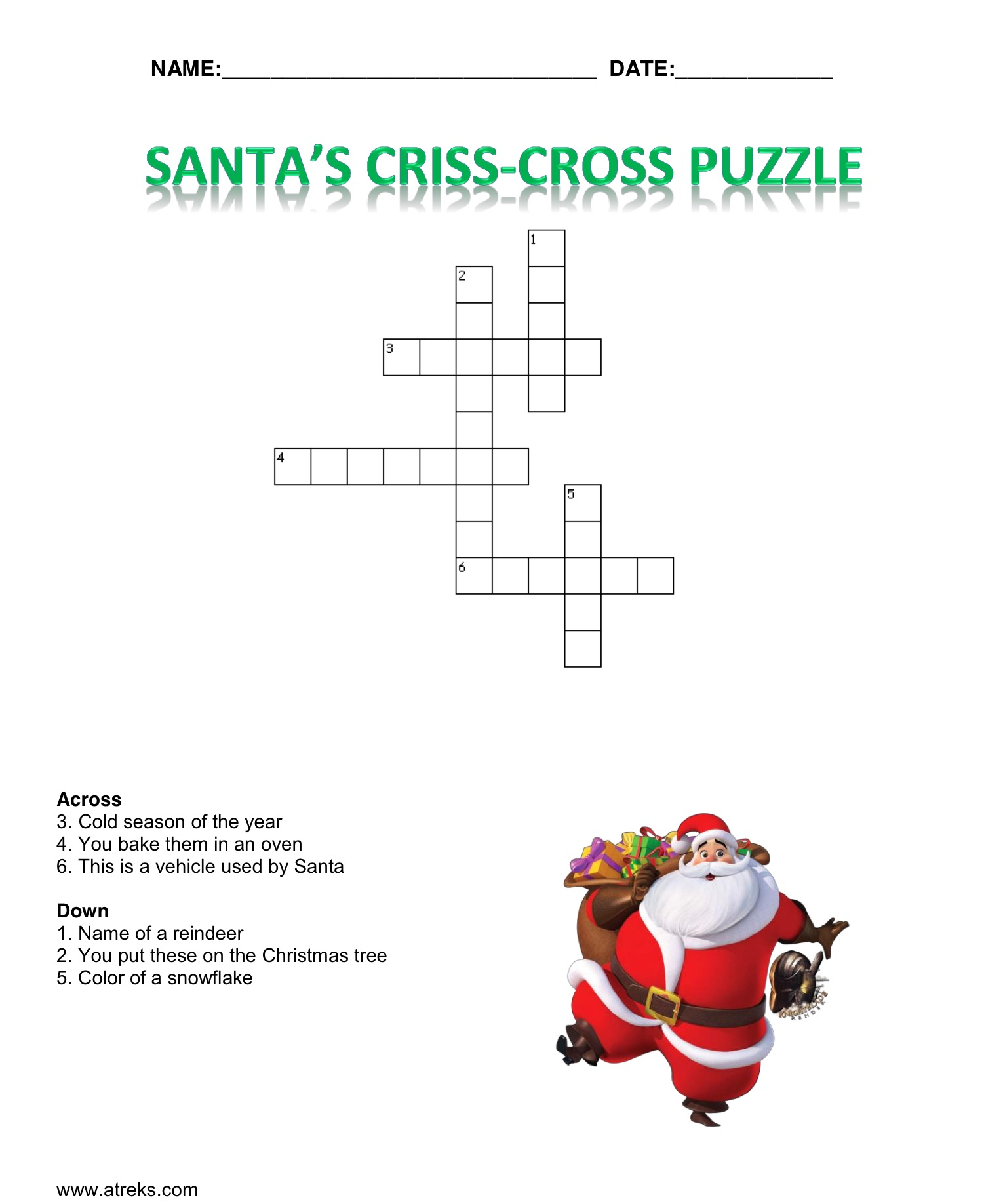 Christmas Jokes And Worksheets For Children Reks