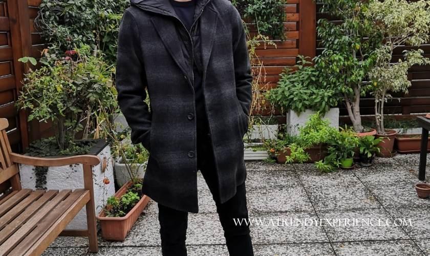 moda uomo autunno inverno 2020 cappotto a quadri