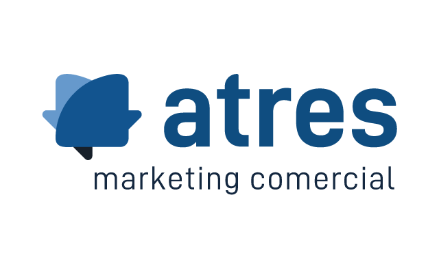 logotipo de atres marketing