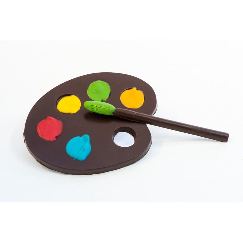 Palette De Peinture Chocolat A Trianon