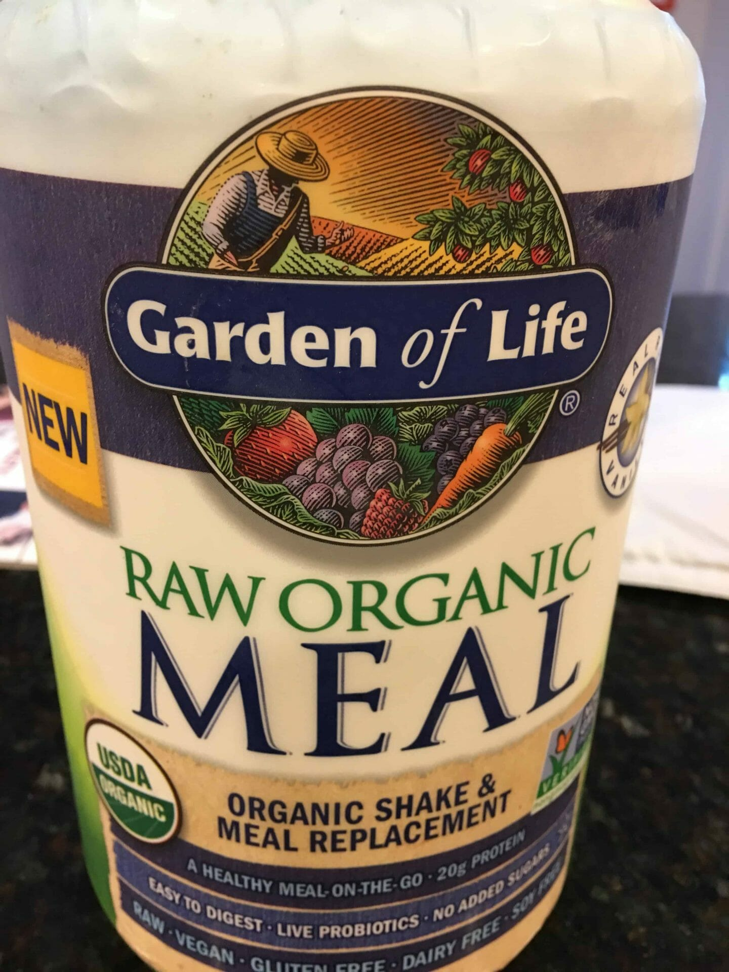Garden Of Life Raw Organic Meal Replacement Review