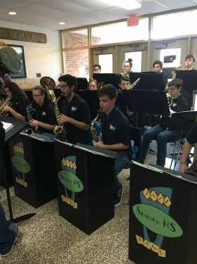 Seaford HS band