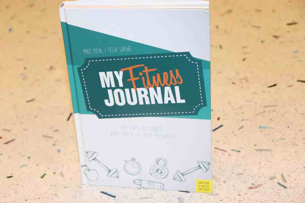 my fitness journal review a triathlete s diary my fitness journal