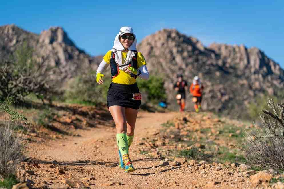 photo of Imei running an ultra