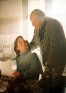 Jerónimo con la compañera de su vida