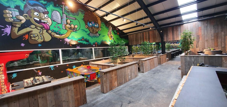 Lebbeke Escape Rooms Atrium Mortis eetzaal