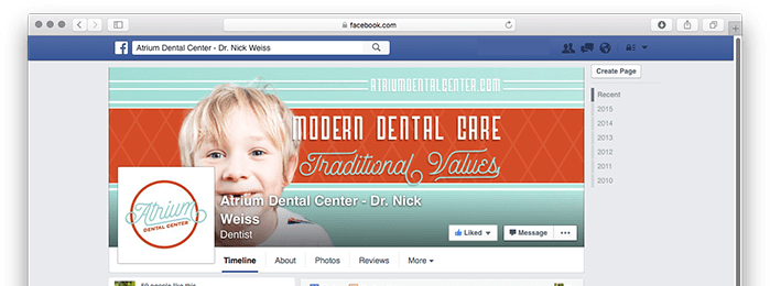 Atrium Dental Center on Facebook