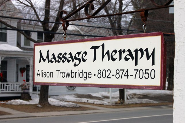 Alison Trowbridge Massage Therapy Newfane Vermont