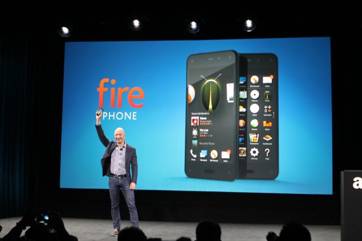 El primer teléfono de Amazon