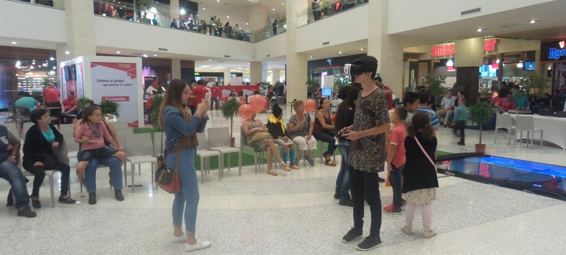 Grupo Mutual y AVW se unieron para mostrar realidad virtual en City Mall