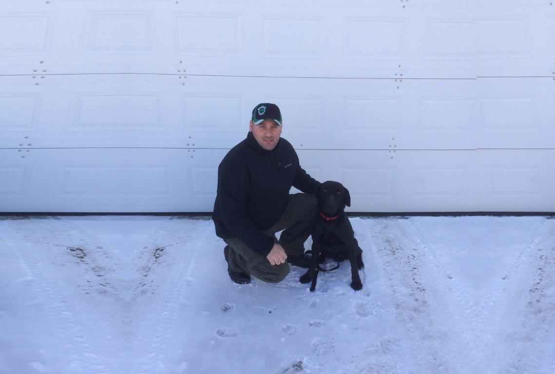 Northern Ontario Drug Detection Dog.