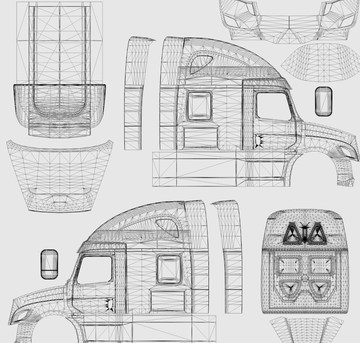 Template Freightliner Cascadia V 3 9 3 Ats