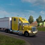 American Truck Simulator Peterbilt 579 Customization Pre Release Beta Ats Mod American Truck Simulator Mod