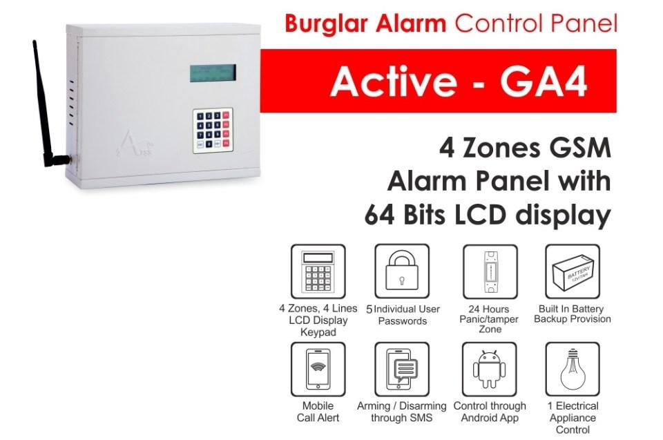 Burglar Alarm Active-GA4