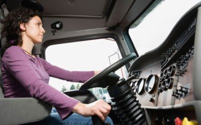 Overdrive November, 2020 – Amid Rampant Unemployment, Trucking Offers Women a Welcoming Hand
