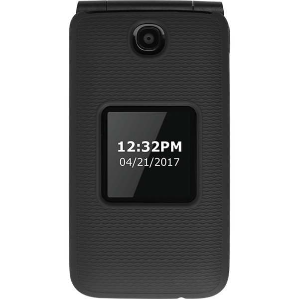 UNKNOWNQuikCell Soft Touch Two-Piece Shield Case and Holster - AT&T Cingular Flip 2