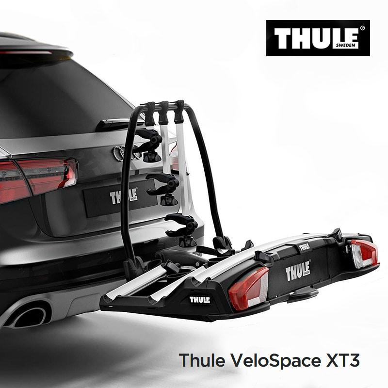 thule velospace xt porte velos plateforme pour 3 1 velos incl