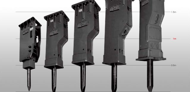 Toku Hammer / Striker Hydraulic Breaker Brochure