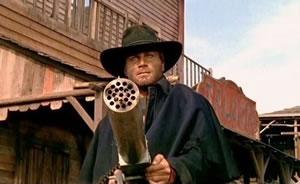 Bad idea bring a knife to a gunfight boy