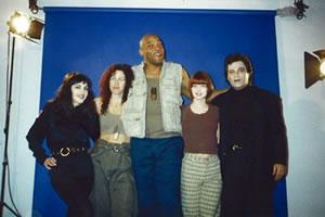 Original cast of Pale Dreamer: Brinke, me, Ken, Angel & Joe