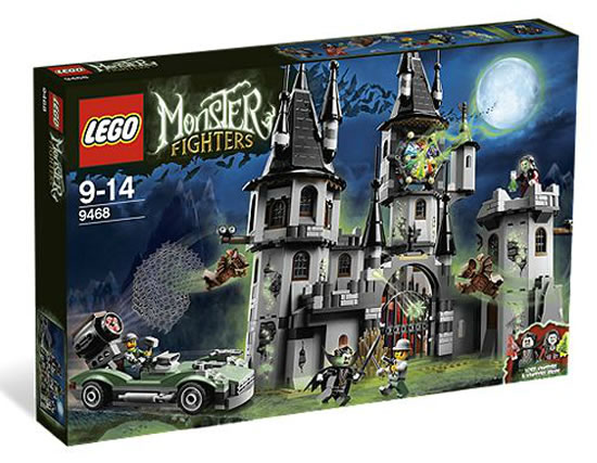 Lego Monster Hunters-Vampyre Castle