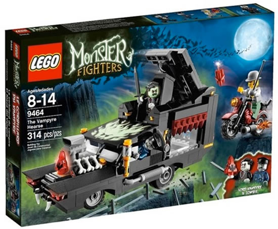 Lego Monster Hunters - The Vampyre Hearse