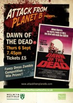 Attack From Planet B Presents Dawn Of The Dead