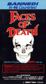 Faces of Death (1978) VHS Cover