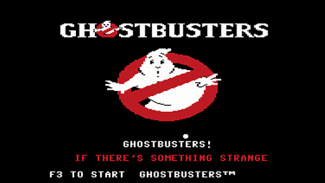 Ghostbusters (1984) Commodore 64