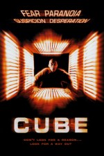 Cube (1997) Theatrical Poster