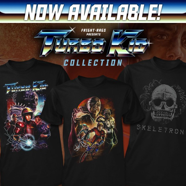 Fright-Rags Turbo Kid Collection
