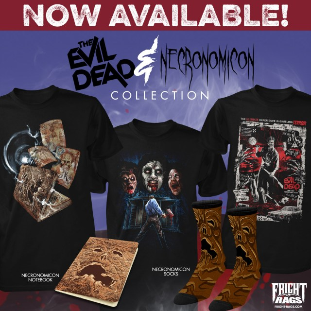 Fright-Rags' The Evil Dead & Necronomicon Collection