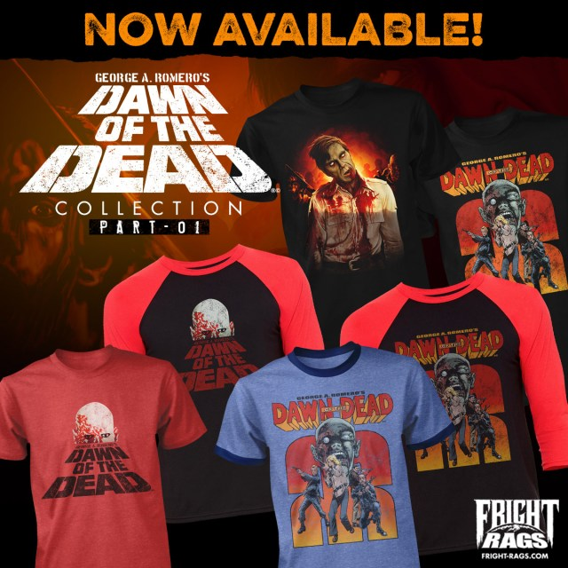 Dawn of the Dead Fright-Rags Collection