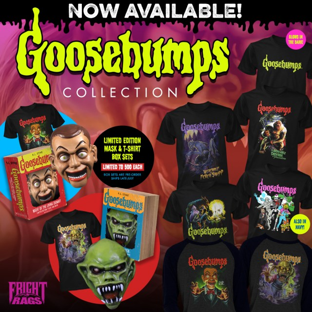 Fright-Rags Goosebump Collection