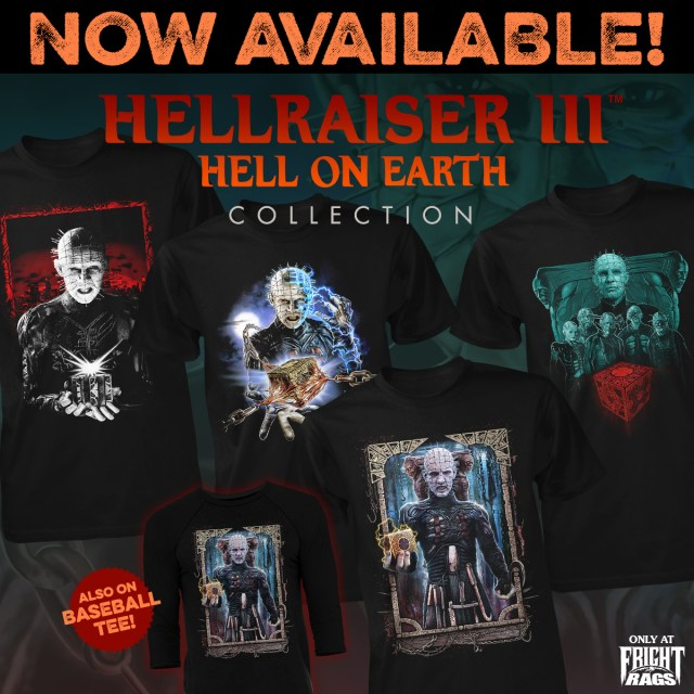 HELLRAISER III: HELL ON EARTH Collection from Fright-Rags