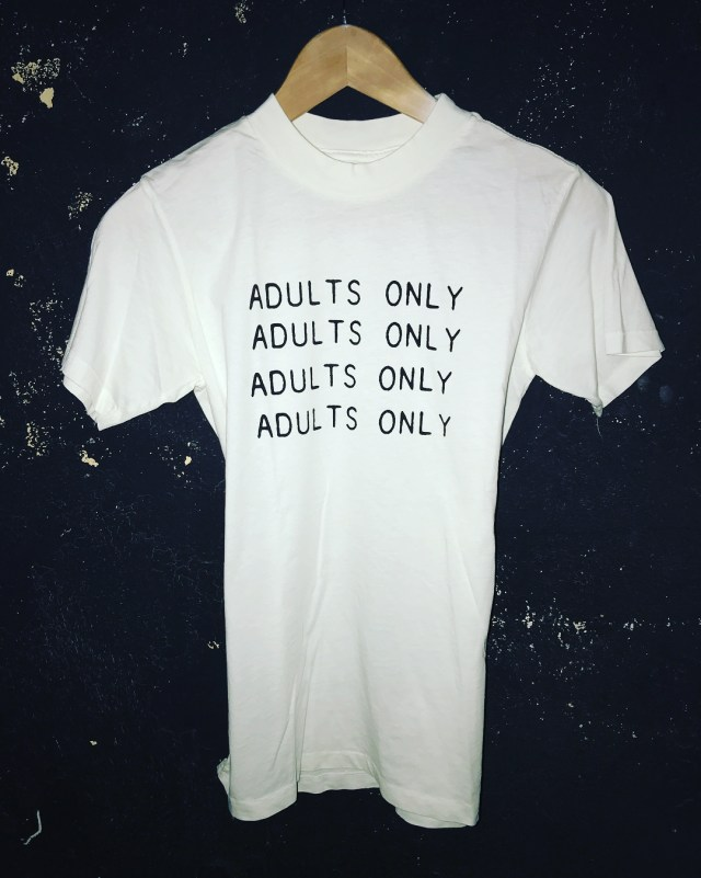 Small batch of ADULTS ONLY T-Shirts Available from Local Boogeyman