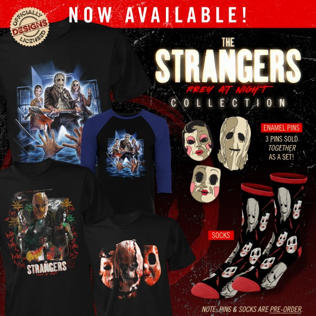 THE STRANGERS: PREY AT NIGHT Merchandise from Fright-Rags