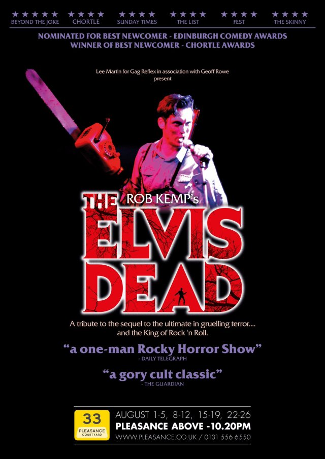 Rob Kemp presents The Elvis Dead