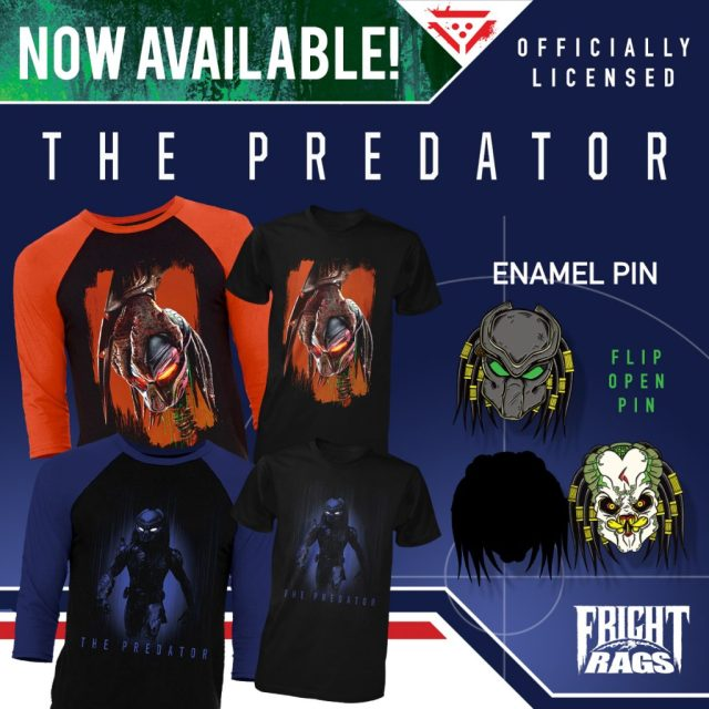 THE PREDATOR, TEEN WOLF & SLASHBACK VIDEO Apparel from Fright-Rags