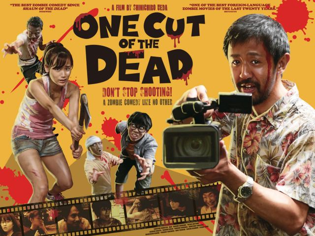 ONE CUT OF THE DEAD Limited UK Theatrical Release from 4th January 2019 Courtesy of Third Window Films