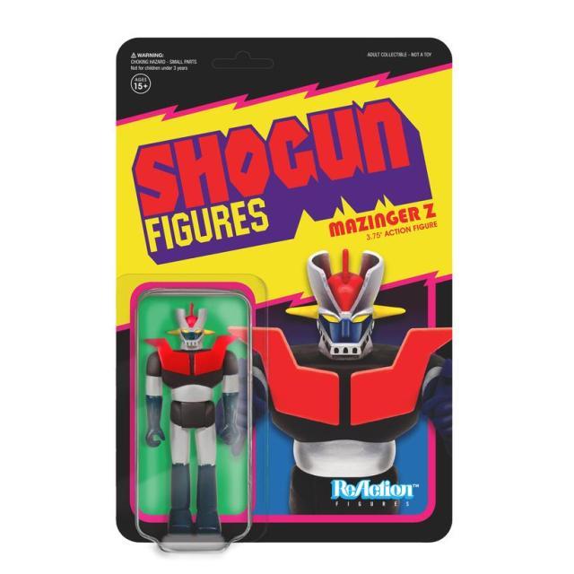 Super7 SHOGUN ReAction & M.U.S.C.L.E. Figures